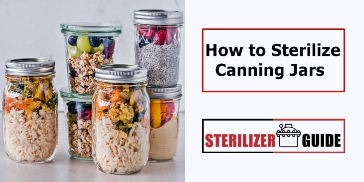 how to sterilize canning jars